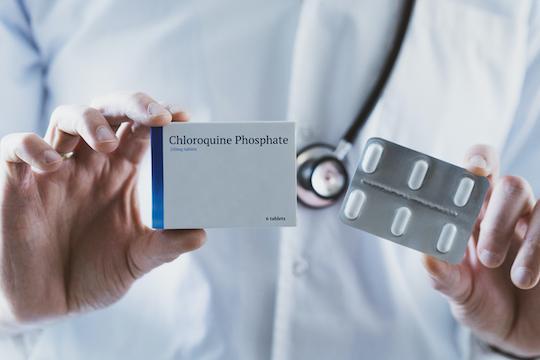 Hydroxychloroquine et coronavirus : négativité d'une étude randomisée