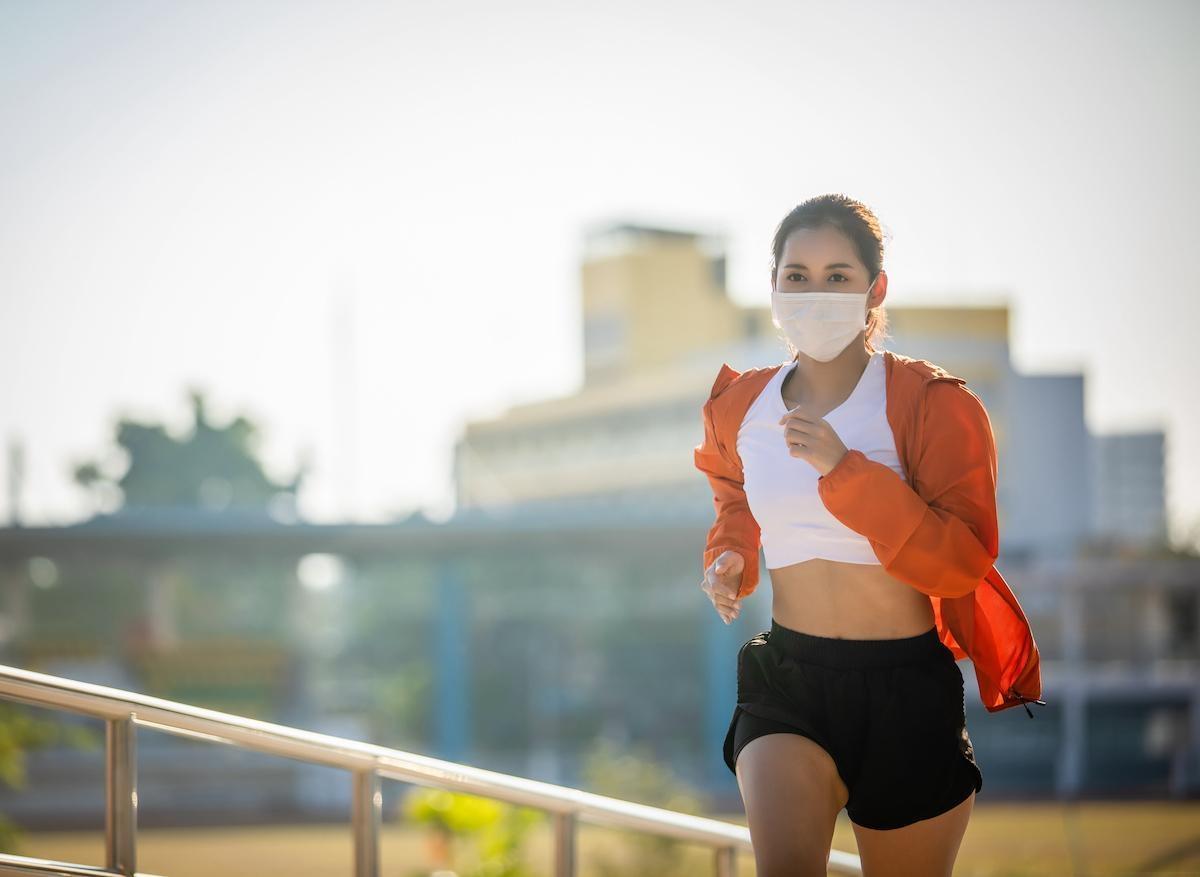 Pollution : faire de l'exercice reste néanmoins bénéfique