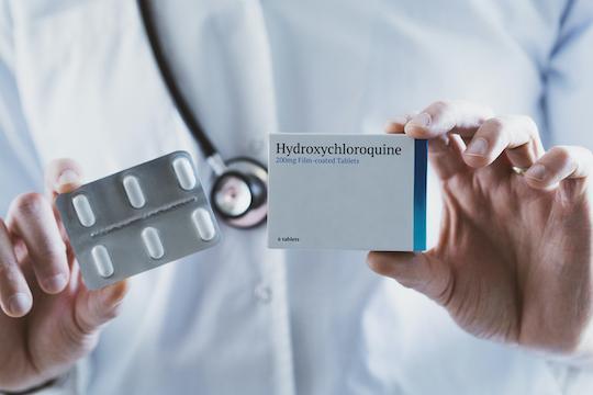Hydroxychloroquine : pas de bénéfice en préexposition contre le SARS-CoV-2
