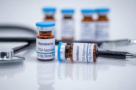 Remdésivir : bénéfice au stade précoce chez les malades Covid-19 hospitalisés