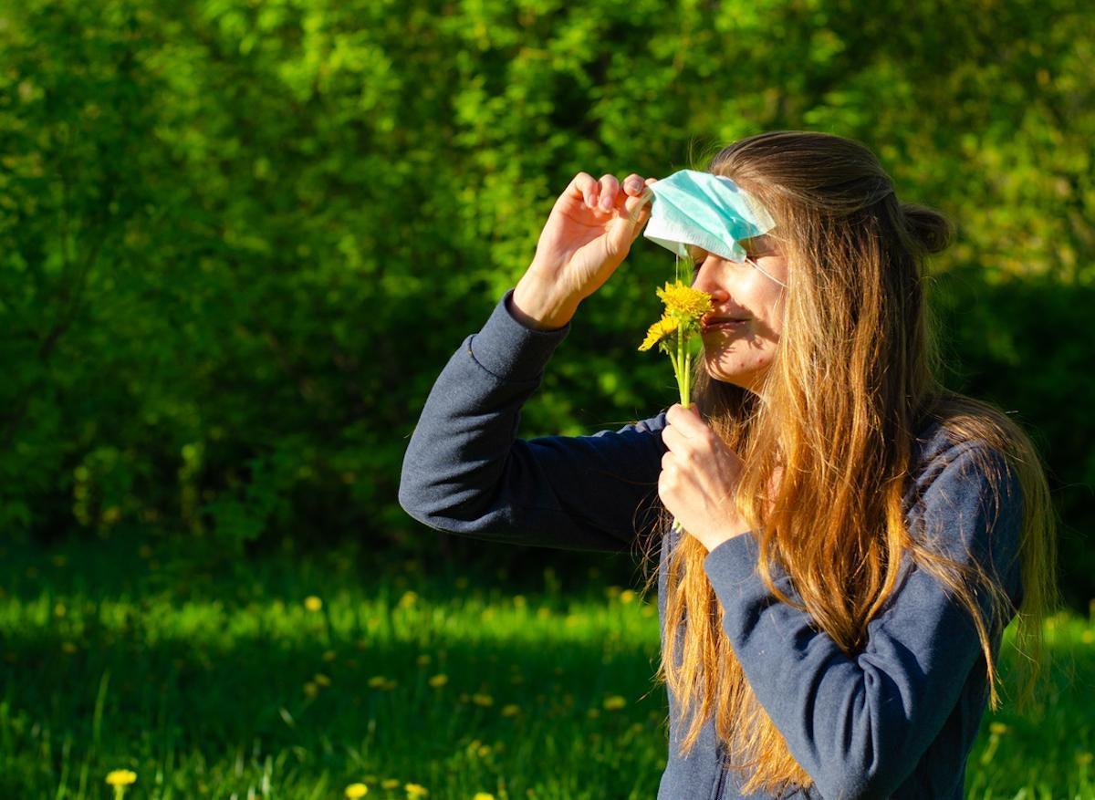 Anosmie : plus de 95% des convalescents Covid retrouvent l'odorat à 1 an