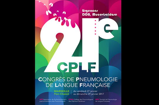 21ème édition du Congrès de Pneumologie de Langue Française
