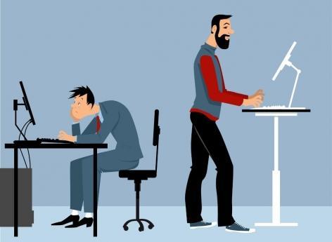 Sédentarité : travailler debout n'est pas la panacée