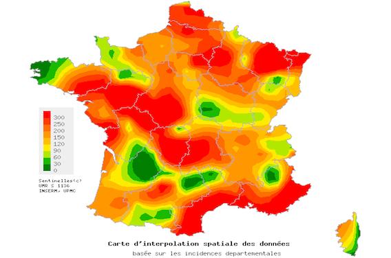 Gastroentérite : la France atteint le seuil épidémique