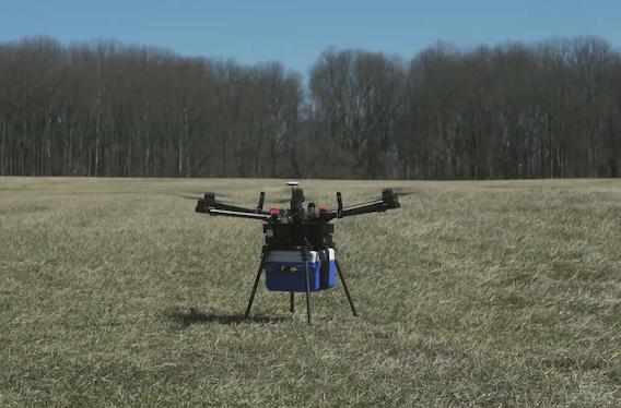 Transfusion : des drones pour transporter les produits sanguins