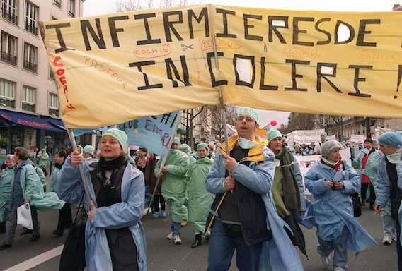 Grève des infirmières : l'austérité dégrade les conditions de travail à l'hôpital