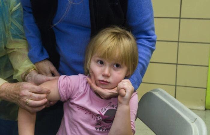 Vaccination grippale : moins d'enfants hospitalisés