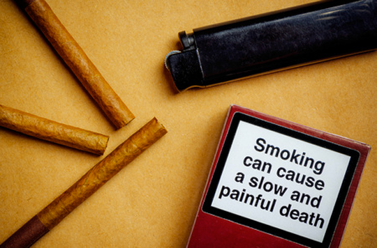 Arrêt de la cigarette : les images choquantes sur les paquets sont efficaces