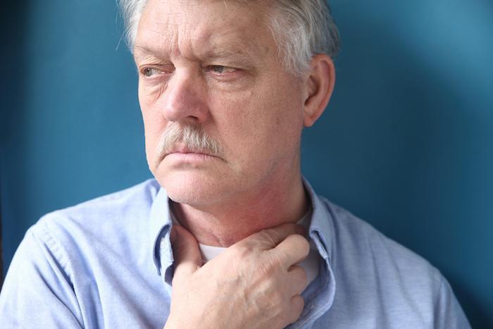 Cancers ORL : les reflux acides pourraient être impliqués chez les personnes âgées