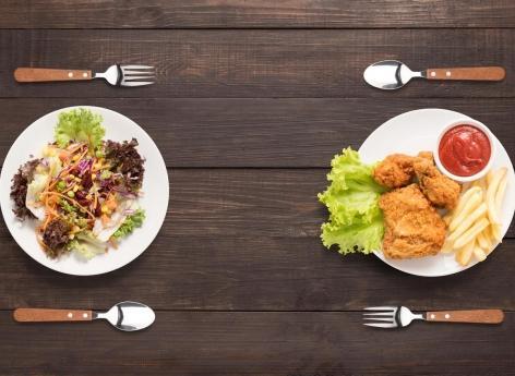 Végétariens et vegan : attention au risque élevé d'AVC