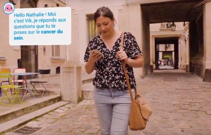 Octobre Rose : un compagnon virtuel accompagne les malades