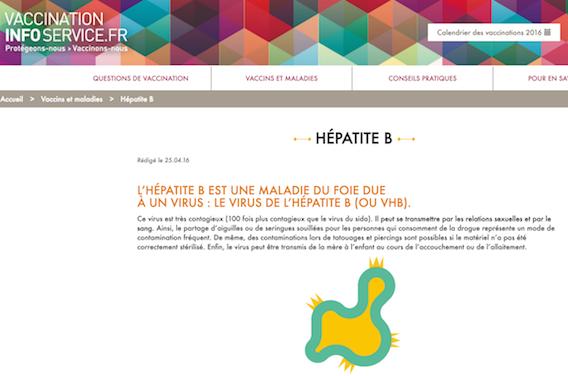 Vaccination Info Service : une information transparente à disposition en ligne
