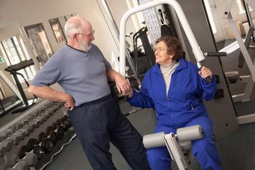 Sujet âgé : la musculation allonge l'espérance de vie