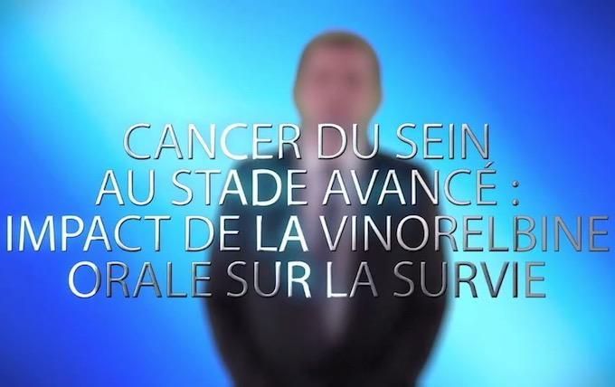 Cancer du sein au stade avancé : impact de la vinorelbine orale sur la survie