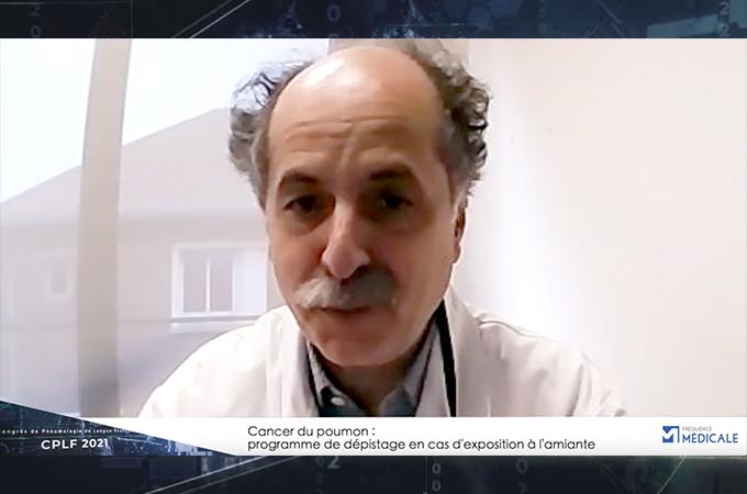Cancer du poumon : programme de dépistage en cas d'exposition à l'amiante